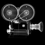 老照相机 3d回报 免版税图库摄影
