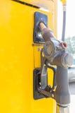 老燃料喷嘴或抽的气体 - 选择聚焦 库存照片