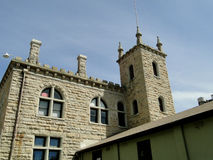 老爱达荷监狱- 1872 免版税库存照片