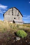老爱达荷谷仓。 库存图片