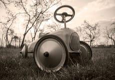 老牌玩具汽车 免版税图库摄影