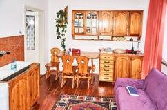 老牌的厨房 免版税库存照片