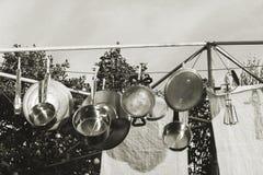 老牌洗碗机 库存照片