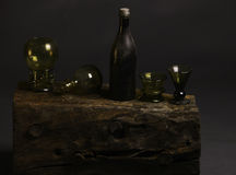 老牌glas瓶 免版税库存照片