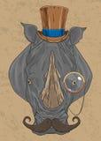 老犀牛 免版税库存图片