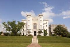 老状态国会大厦在巴吞鲁日,路易斯安那 库存图片