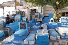 老犹太公墓 免版税库存照片
