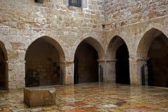 老犹太学校,耶路撒冷,以色列 免版税库存图片