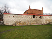 老犹太教堂克拉科夫 库存图片