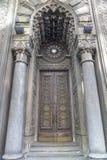老犹太教堂在基辅,进口修剪细节 库存图片