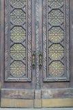 老犹太教堂在基辅,进口修剪细节 库存照片