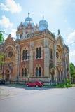 老犹太教堂在蒂米什瓦拉,罗马尼亚 免版税库存图片