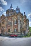 老犹太教堂在蒂米什瓦拉,罗马尼亚 库存照片