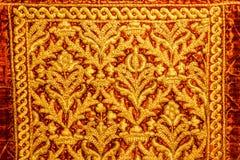 老犹太纺织品的细节 库存图片