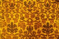 老犹太纺织品的细节 图库摄影