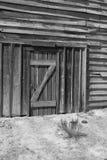 老狂放的西部镇电影布景在亚利桑那 免版税库存图片