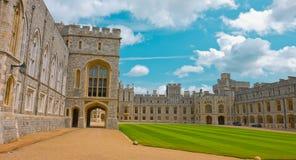 老王宫,温莎石头城堡 免版税库存照片