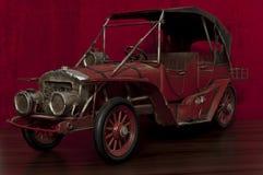 老玩具汽车 免版税库存图片