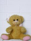 老玩具熊玩具 免版税图库摄影