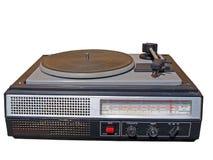 老球员收音机 免版税库存图片
