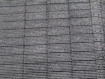 老瓦屋顶背景 免版税库存图片