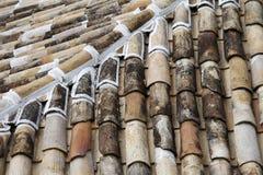 老瓦屋顶cumbuco 免版税库存图片