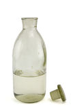 老瓶化学制品 免版税库存照片