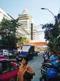老瓷镇在曼谷 免版税图库摄影