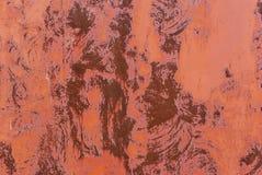 老生锈的墙壁抽象红色背景纹理  库存图片