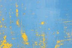 老生锈的墙壁 免版税库存图片