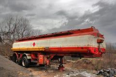 老生锈的拖车 免版税库存照片