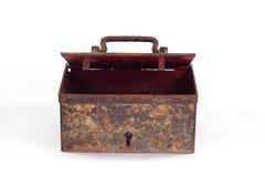 老生锈的箱柜 免版税库存照片