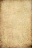老生锈的纸张 免版税库存照片