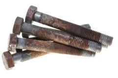 老生锈的螺栓 免版税库存图片