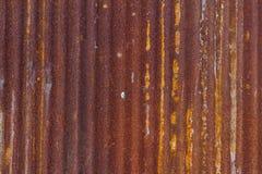 老生锈的被镀锌的背景 免版税库存照片