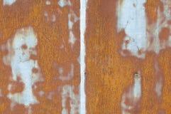 老生锈的金属墙壁 库存图片