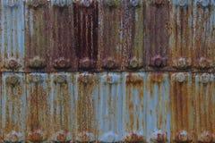 老生锈的金属纹理 免版税图库摄影