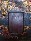 老生锈的金属背景 图库摄影