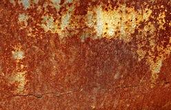 老生锈的金属铁板料的纹理 铁锈纹理背景 图库摄影