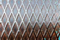 老生锈的金属难看的东西背景 库存图片