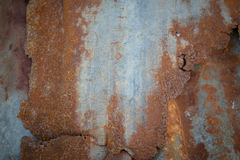 老生锈的锌背景 免版税图库摄影