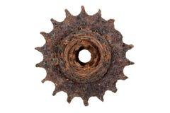老生锈的齿轮 免版税库存照片