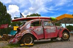 老生锈的60 `与明轮轮叶的s大众 图库摄影