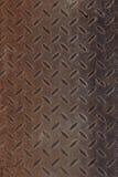 老生锈的织地不很细金属墙壁 库存图片