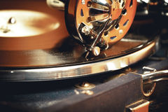 老电唱机留声机 库存图片