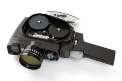 老电影摄影机 免版税库存照片