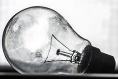 老电灯泡 库存图片