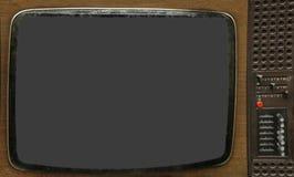 老电视 免版税图库摄影