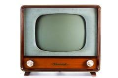 老电视 免版税库存照片
