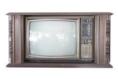 老电视 免版税库存图片